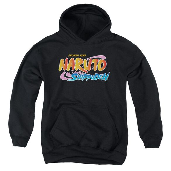 Naruto Shippuden Logo Youth Pull Over Hoodie