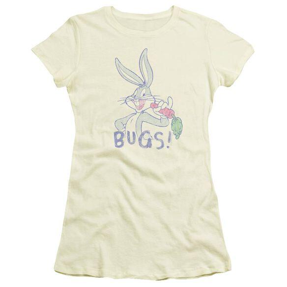 Looney Tunes Bugs Short Sleeve Junior Sheer T-Shirt