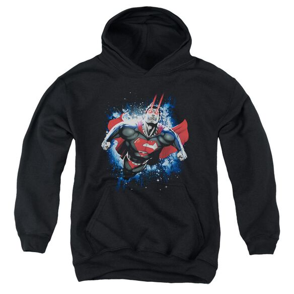 Superman Stardust Youth Pull Over Hoodie