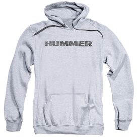 Hummer Distressed Hummer Logo Adult Pull Over Hoodie Athletic