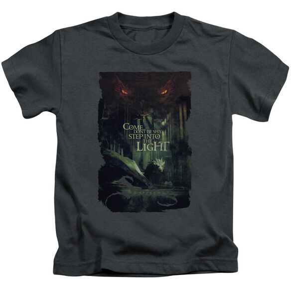 Hobbit Taunt Short Sleeve Juvenile Charcoal T-Shirt