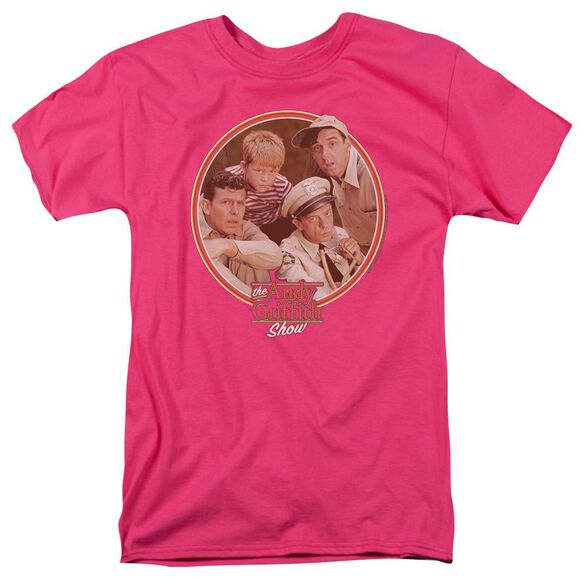 ANDY GRIFFITH BOYS CLUB - S/S ADULT 18/1 - HOT PINK T-Shirt