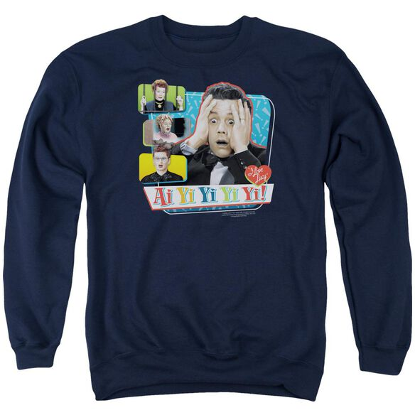 I Love Lucy Ai Yi Yi Yi Yi Adult Crewneck Sweatshirt