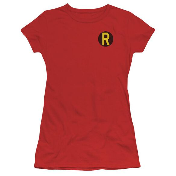 Dc Robin Logo Short Sleeve Junior Sheer T-Shirt