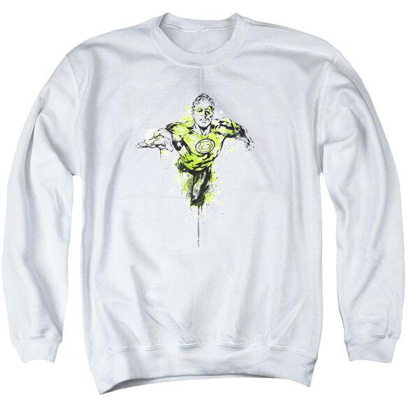 Green Lantern Inked Adult Crewneck Sweatshirt