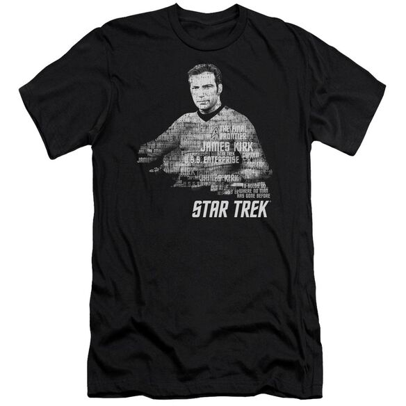 Star Trek Kirk Words Short Sleeve Adult T-Shirt