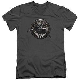 Bsg Viper Squadron Short Sleeve Adult V Neck T-Shirt