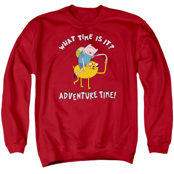 Adventure Time Ride Bump Adult Crewneck Sweatshirt