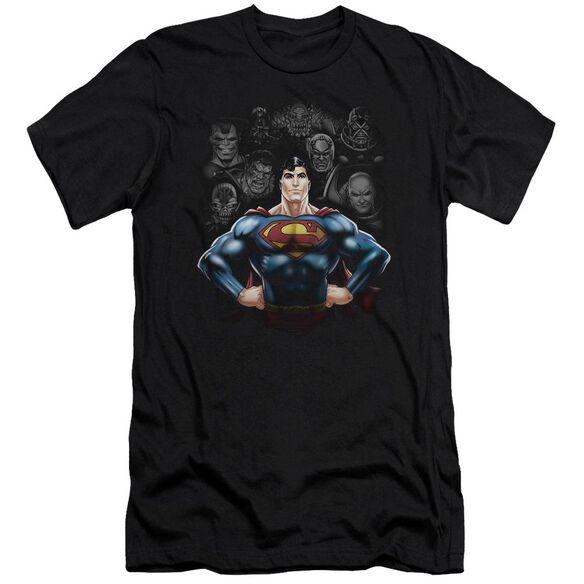 Superman Villains Premuim Canvas Adult Slim Fit