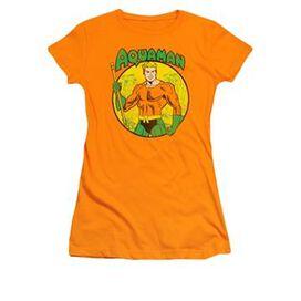 Aquaman Name Circle Juniors T-Shirt