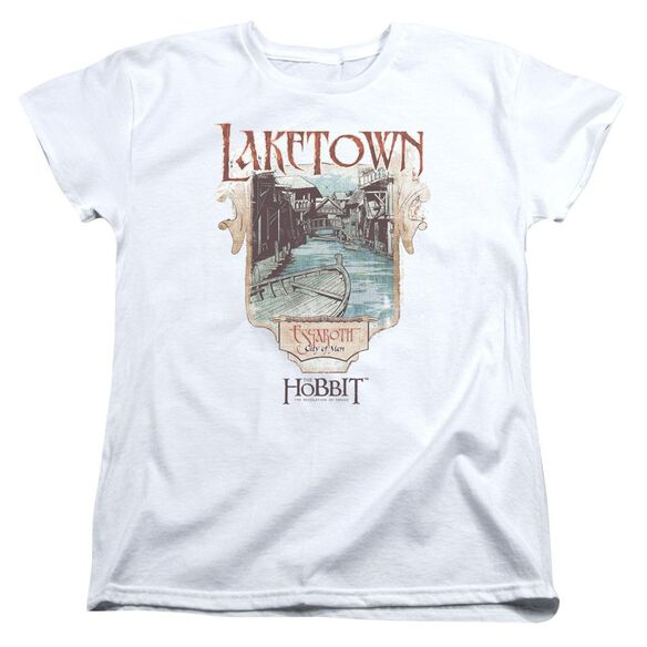Hobbitlaketown Short Sleeve Womens Tee T-Shirt