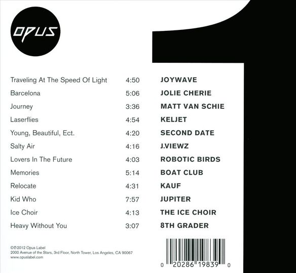 Opus Label One 0212