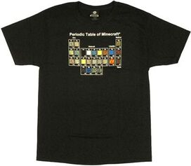 Minecraft Periodic Table T-Shirt