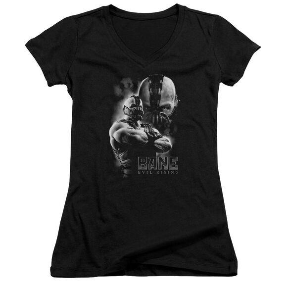 Dark Knight Rises Evil Rising Junior V Neck T-Shirt