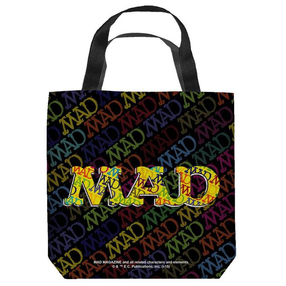 Mad So Much Mad Tote Bag