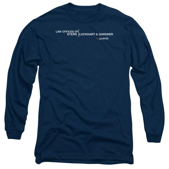 The Good Wife Law Offices Long Sleeve Adult T-Shirt