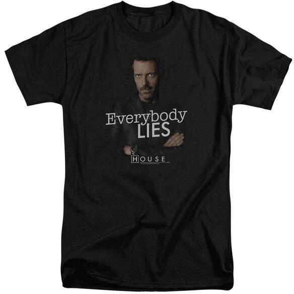 House Everybody Lies Short Sleeve Adult Tall T-Shirt