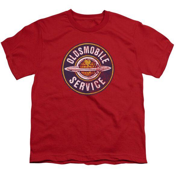 Oldsmobile Vintage Service Short Sleeve Youth T-Shirt