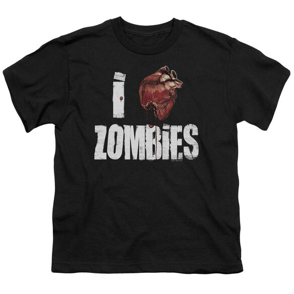 I Bloody Heart Zobmies Short Sleeve Youth T-Shirt