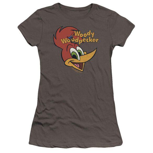 Woody Woodpecker Retro Logo Premium Bella Junior Sheer Jersey