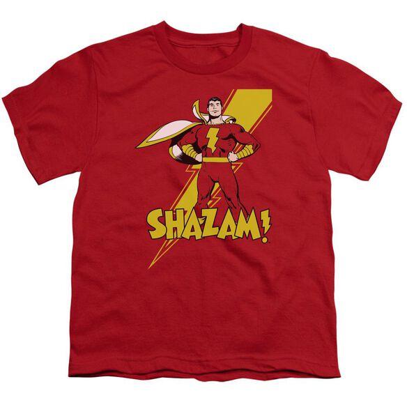 Dc Shazam! Short Sleeve Youth T-Shirt