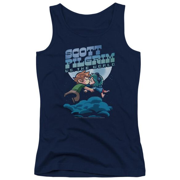 Scott Pilgrim Lovers Juniors Tank Top