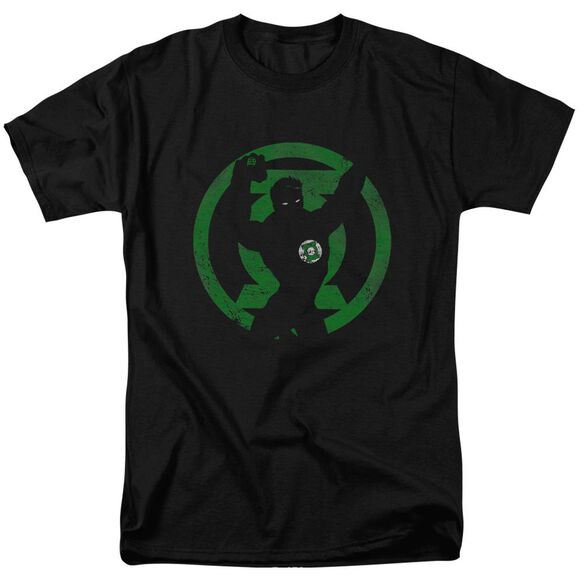 Dc Gl Symbol Knockout Short Sleeve Adult T-Shirt