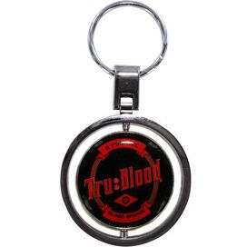 True Blood Spinner Keychain
