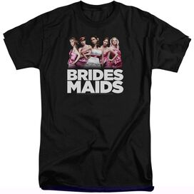 BRIDESMAIDS MAIDS - S/S ADULT TALL - BLACK - XL T-Shirt