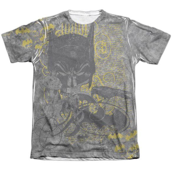 Batman Nevermore Adult 65 35 Poly Cotton Short Sleeve Tee T-Shirt