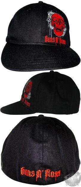 Guns N Roses Skull Hat