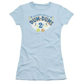 Dum Dums 2 Cents Short Sleeve Junior Sheer Light T-Shirt