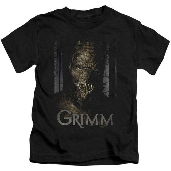 Grimm Chompers Short Sleeve Juvenile Black Md Black Md T-Shirt