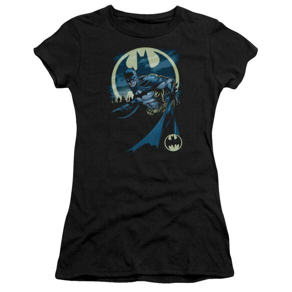 BATMAN HEED THE CALL - S/S JUNIOR SHEER - BLACK T-Shirt