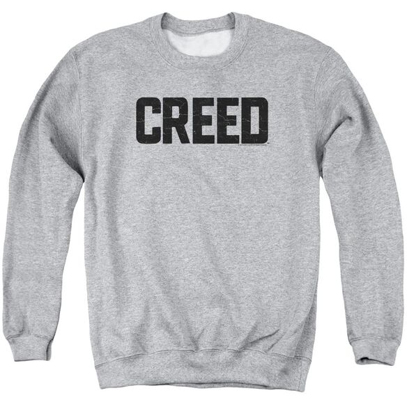 Creed Cracked Logo Adult Crewneck Sweatshirt Athletic