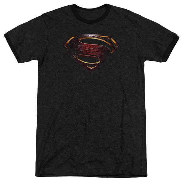 Justice League Movie Superman Logo Adult Ringer