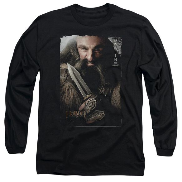 The Hobbit Dwalin Long Sleeve Adult T-Shirt