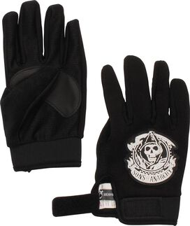 Sons of Anarchy Velcro Grippy Gloves