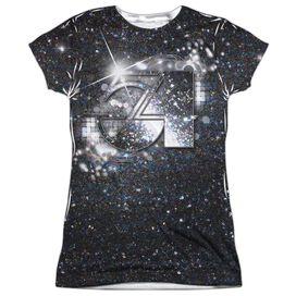 Studio 54 Senses Short Sleeve Junior Poly Crew T-Shirt