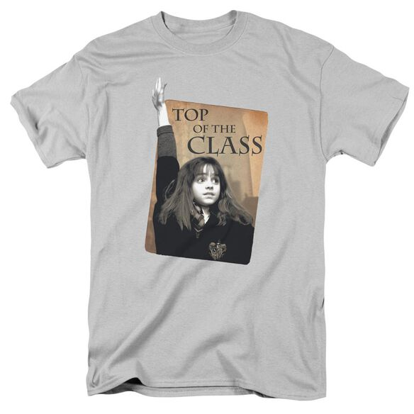 Harry Potter Top Of The Class Short Sleeve Adult Silver T-Shirt