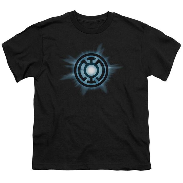 Green Lantern Blue Glow Short Sleeve Youth T-Shirt