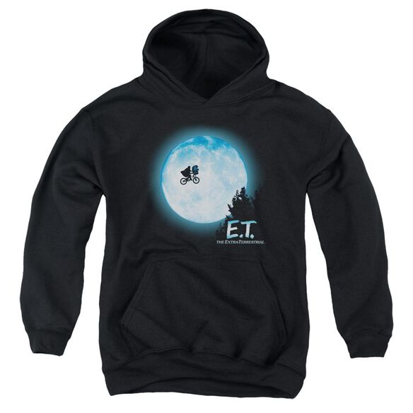 Et Moon Scene Youth Pull Over Hoodie