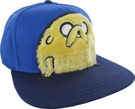 Adventure Time Jake Fuzzy Snapback Hat