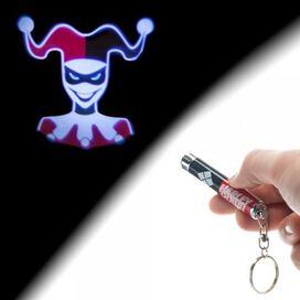 Harley Quinn Flashlight Keychain