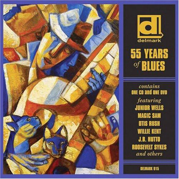 55 Years Of Blues / Various (W/Dvd)