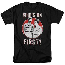 Abbott & Costello First Short Sleeve Adult T-Shirt