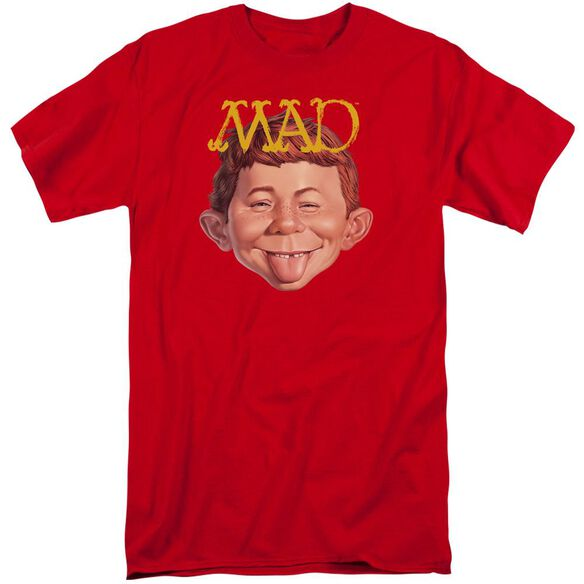 Mad Absolutely Mad Short Sleeve Adult Tall T-Shirt