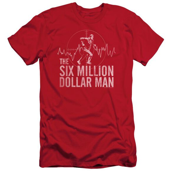 Six Million Dollar Man Target Short Sleeve Adult T-Shirt