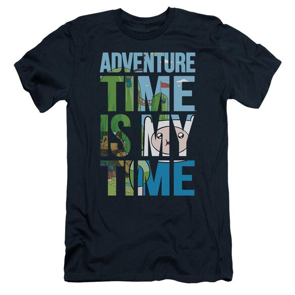 Adventure Time My Time Short Sleeve Adult T-Shirt