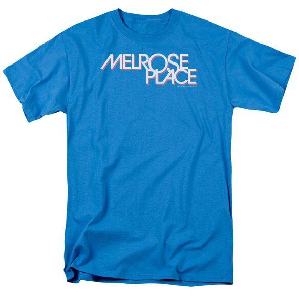 Melrose Logo Short Sleeve Adult Turquoise T-Shirt
